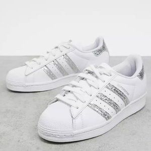 Adidas Superstar Glitter Sneakers